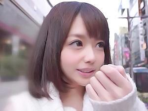 [SOD直播A片]日本搭訕話術太驚人 哈啦一下正妹就肯無套中出拍A片了…