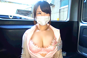 完全真實交涉!盯上街頭的素人超可愛巨乳歯科衛生士!讓人忍不住想帶回家疼