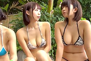 [乱交A片線上看]巨乳女子大生溫泉泡湯中出大亂交